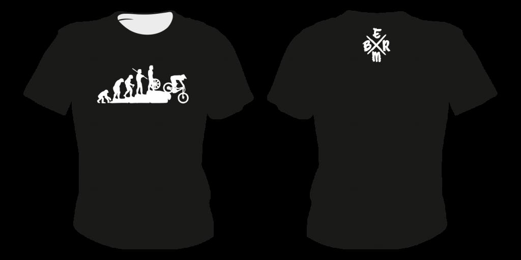 Maastopyöräilyvaatteet   T-paita TS10 - painatuksella