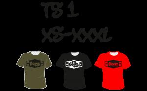 Maastopyöräilyvaatteet | T-paita TS1