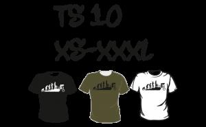 Maastopyöräilyvaatteet   T-paita TS10