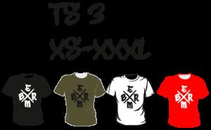 Maastopyöräilyvaatteet | T-paita TS3