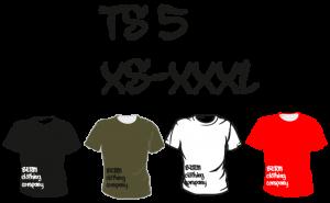 Maastopyöräilyvaatteet | T-paita TS5