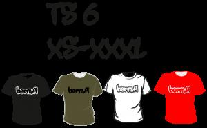 Maastopyöräilyvaatteet | T-paita TS6
