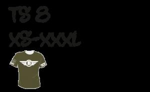 Maastopyöräilyvaatteet | T-paita TS8