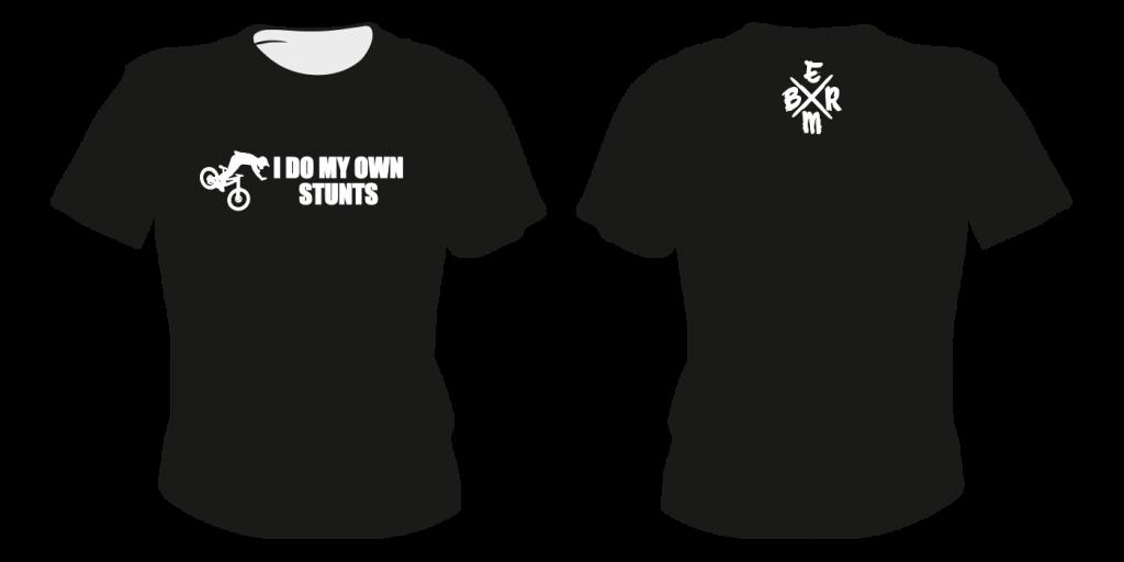 Maastopyöräilyvaatteet | T-paita TS9 - painatuksella