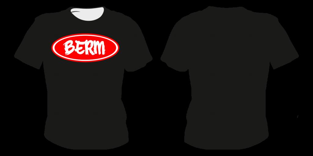 Maastopyöräilyvaatteet | T-paita TS4 - painatuksella