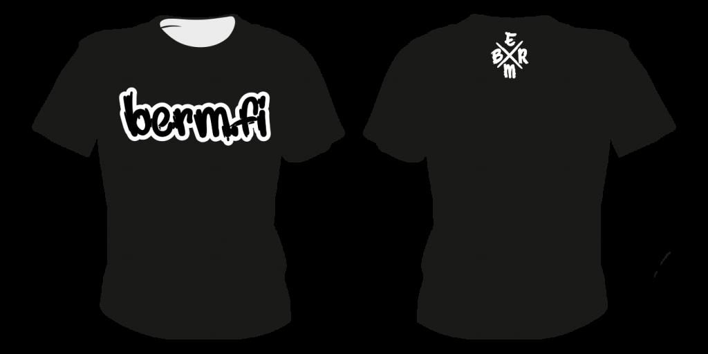 Maastopyöräilyvaatteet | T-paita TS6 - painatuksella